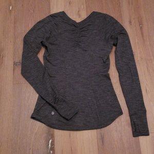 Lululemon long sleeve fitted shirt XS/S